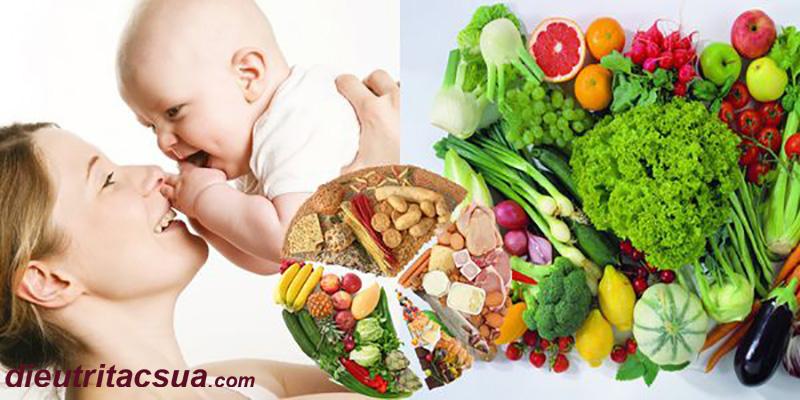 Dinh dưỡng không hợp lý thì có thể khiến mẹ mất sữa