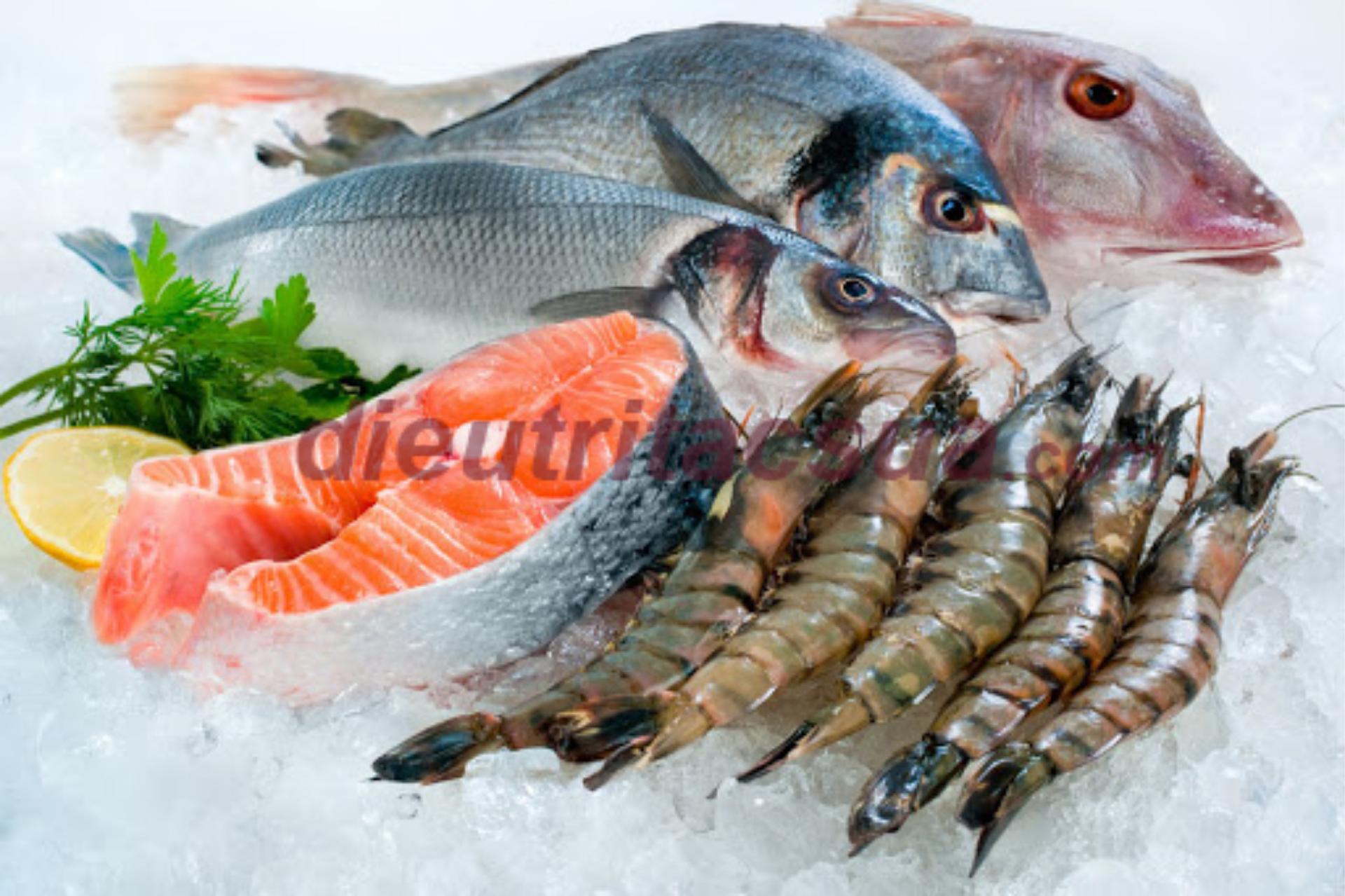 Bổ sung các thực phẩm tôm cua cá để có nhiều hàm lượng dinh dưỡng