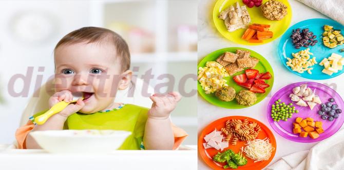 Chế độ ăn dặm của bé phải đảm bảo chất dinh dưỡng