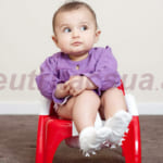 Hầu hết trẻ sơ sinh bị táo bón là do hệ tiêu hóa kém