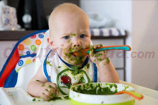 Phương pháp để bé tự ăn